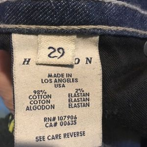 Hudson Jeans Jeans - Hudson boot leg jeans